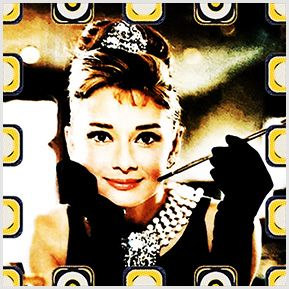 Audrey Hepburn- Bonequinha de Luxo. Quadrinhos confeccionados em Azulejo no tamanho 15x15 cm.Tem um ganchinho no verso para fixar na parede. Inspirados em divas do cinema. Para entrar em contato conosco, acesse: www.babadocerto.com.br