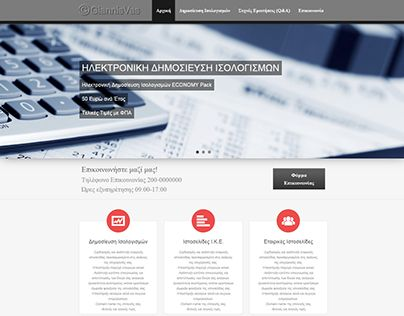 """Check out new work on my @Behance portfolio: """"Online Company's Financial Statements Website"""" http://on.be.net/1VDkhar"""