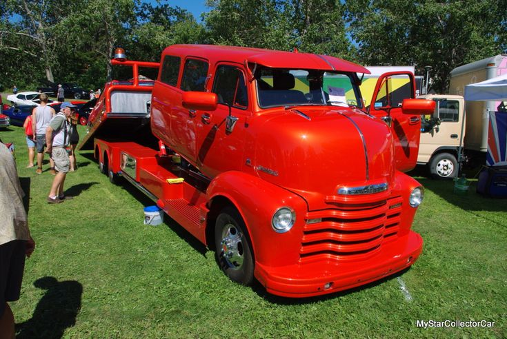 Vintage COE (cab over engine) trucks are spiking in popularity and this custom is one of the finest examples I've ever seen. Take a look at the MSCC story behind this incredible truck: http://mystarcollectorcar.com/february-2018-this-1951-chev…/ #51ChevyCOE