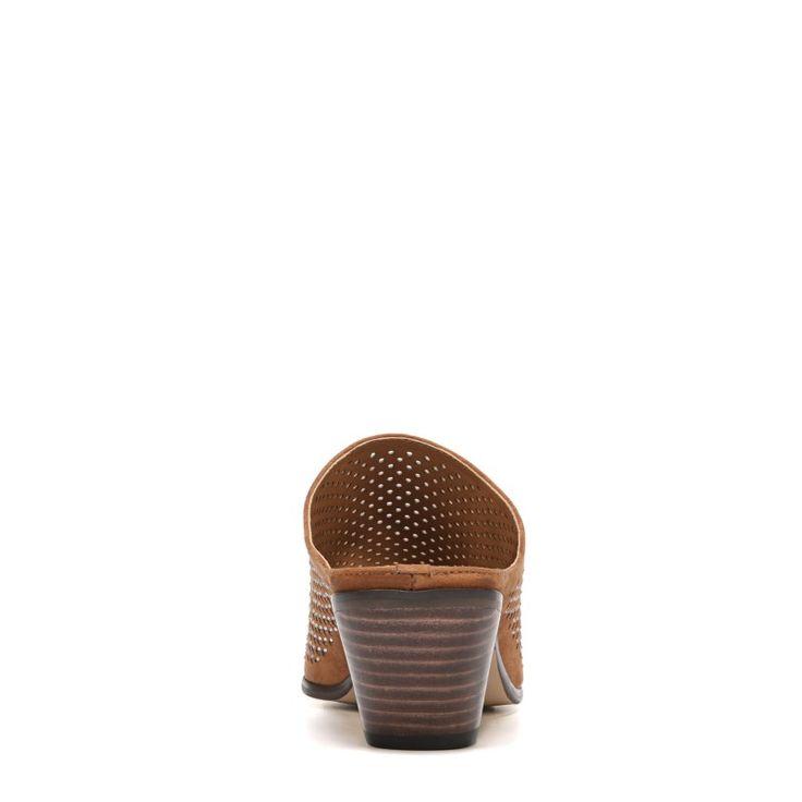 Carlos BY Carlos Santana Women's Penny Mule Shoes (Tawny Tan Fabric)