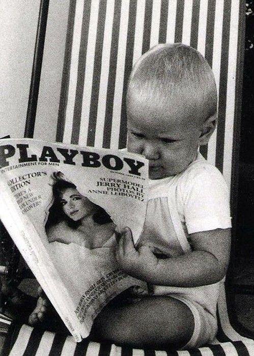 startin' young... smh