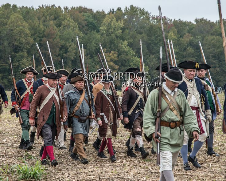 Battle of the Hook 2013 - American militia