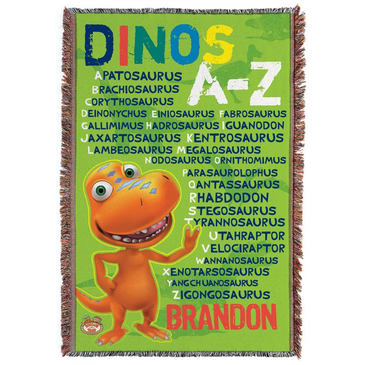 Learn the names of your favorite dinosaurs from A to Z