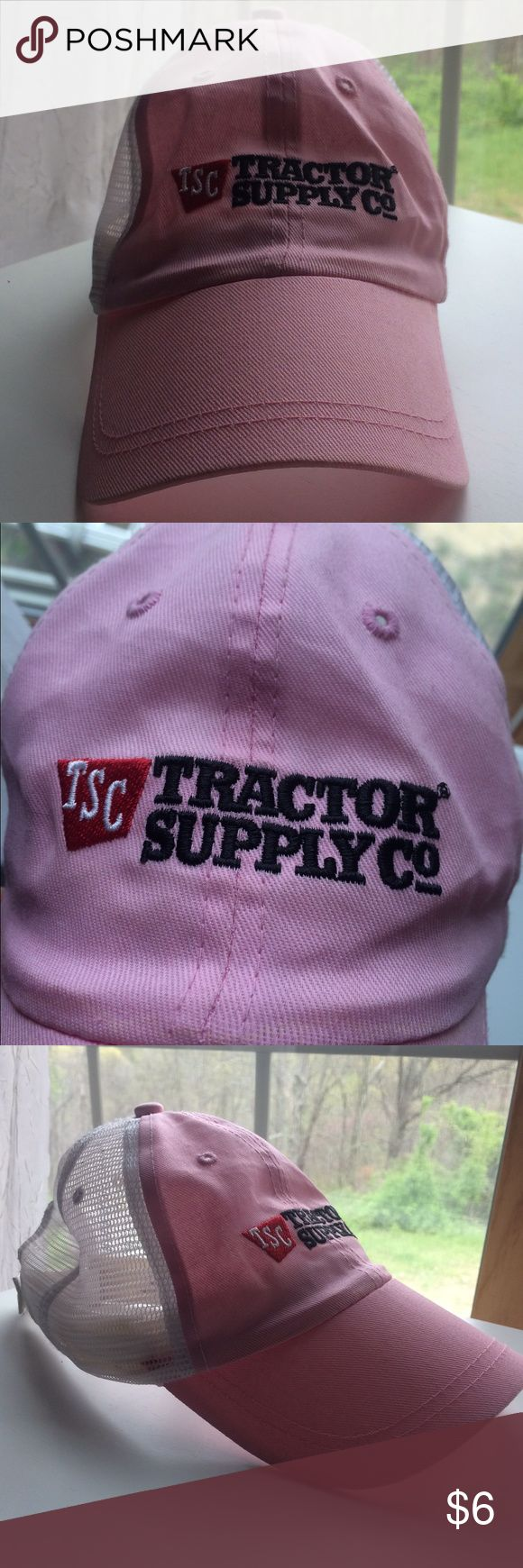 Tractor Supply Pink Hat Like new! Tractor Supply Co.  Accessories Hats