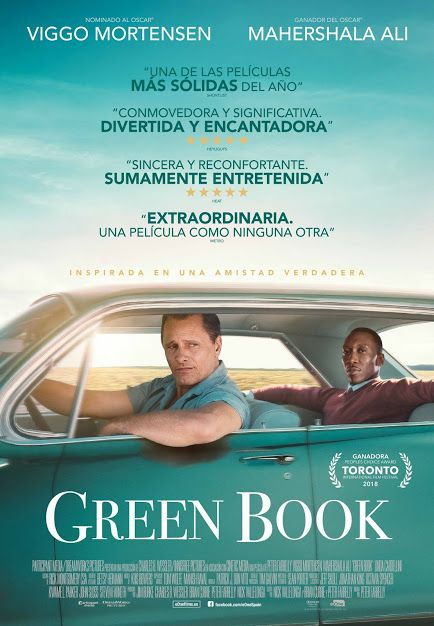 Resultado de imagem para green book peter farrelly poster