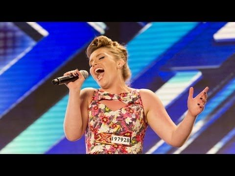 I love the X Factor. This is one of the reasons.  Ella Henderson's audition - The X Factor UK 2012