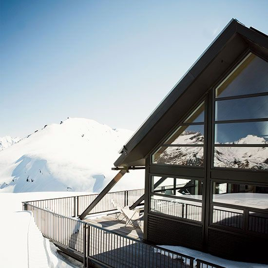Food and Wine - Winter Escapes.  F&W's favourite winter travel destinations include the gorgeous Whare Kea Chalet in Lake Wanaka, New Zealand