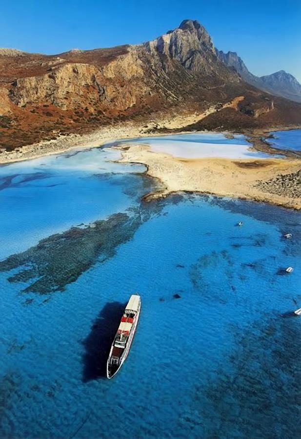 Balos Lagoon, Hania, Crete #Greece