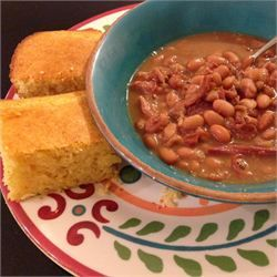 Southern Ham and Brown Beans I threw everything in the crockpot on high for 6 hours. Came out delicious!