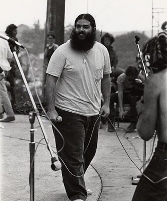 "Canned Heat...Woodstock 1969.  Bob ""The Bear"" Hite."