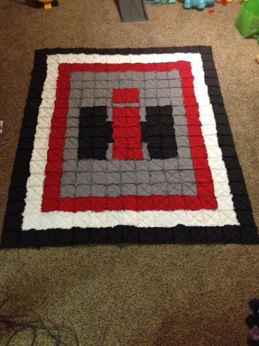 International Harvester Rag Quilt - Queen | IH ideas | Rag ...