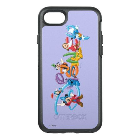 Disney Logo | Mickey and Friends OtterBox Symmetry iPhone 7 Case - tap, personalize, buy right now!