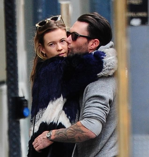 Adam Levine jokes fiancée Behati Prinsloo 'burst into laughter' after his 'Sexiest Man Alive' win