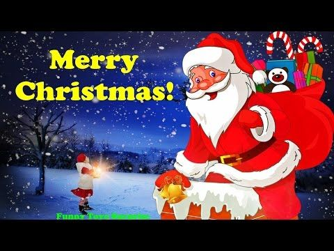 We wish you a Merry Christmas! Song Carol Cartoon Animation Nursery Rhimes Kids Funny Toyo Surprise - YouTube
