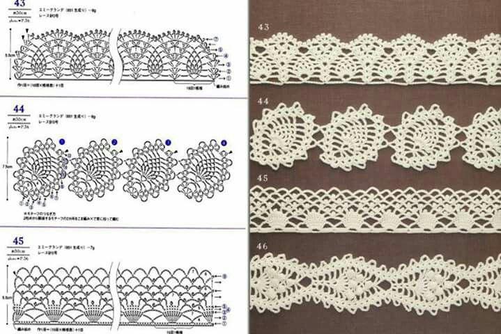 Mejores 105 imágenes de crochet en Pinterest | Ganchillo, Tejido y Tejer