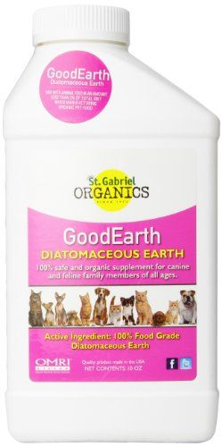 GoodEarth Diatomaceous Earth Dog and Cat Supplement ** Visit the image link more details.