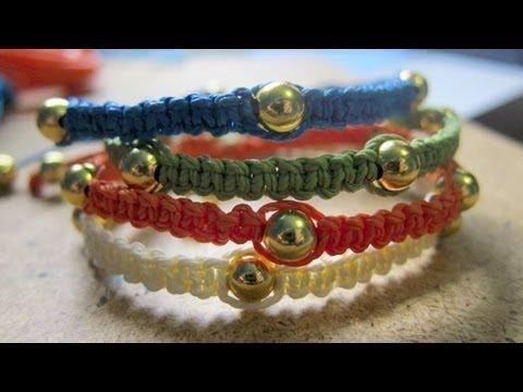 DIY Square Knot Bracelets DIY Jewelry DIY Bracelet