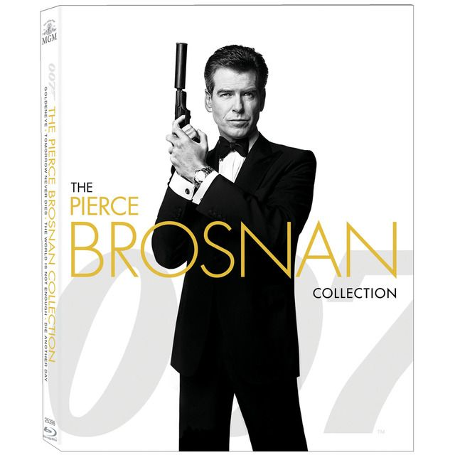 Bond Pierce Brosnan Collection Blu Ray In 2020 Pierce Brosnan