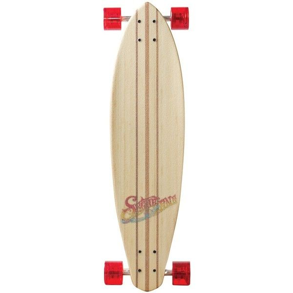 SECTOR NINE Puerto rico bamboo series skateboard ($179) ❤ liked on Polyvore featuring accessories, skateboard, fillers, skate and boards