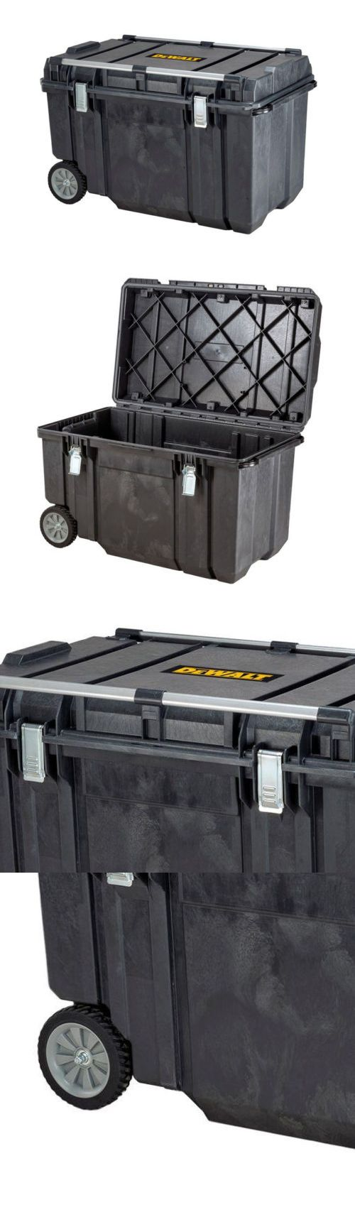 Boxes and Cabinets 42363: Dewalt 38 Inch Mobile Tough Wheeled Tool Box Chest Storage Portable Organizer -> BUY IT NOW ONLY: $156.95 on eBay!