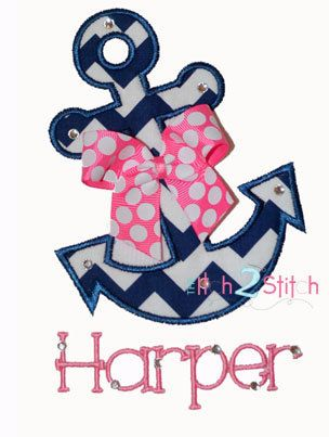 Anchor Applique------ absolutely love this name!!!