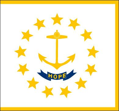 Know the History of Rhode Island Flag and download free