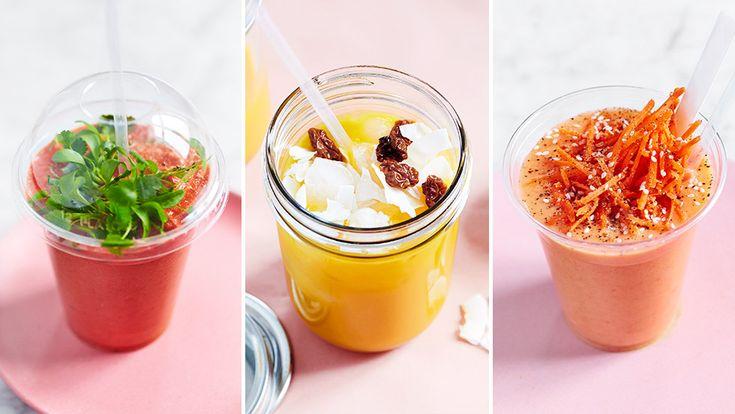 Smoothien är mer än bara en dryck. Vi njuter av den till frukost, lunch, mellis och middag.