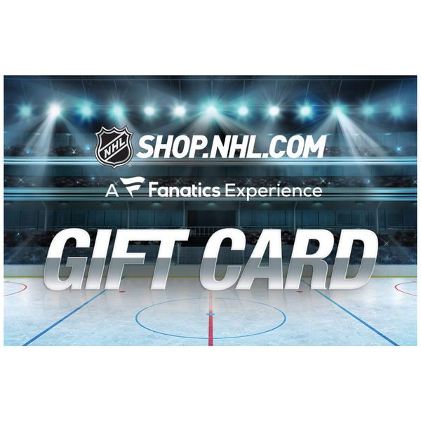 NHL Shop $25 Gift Card