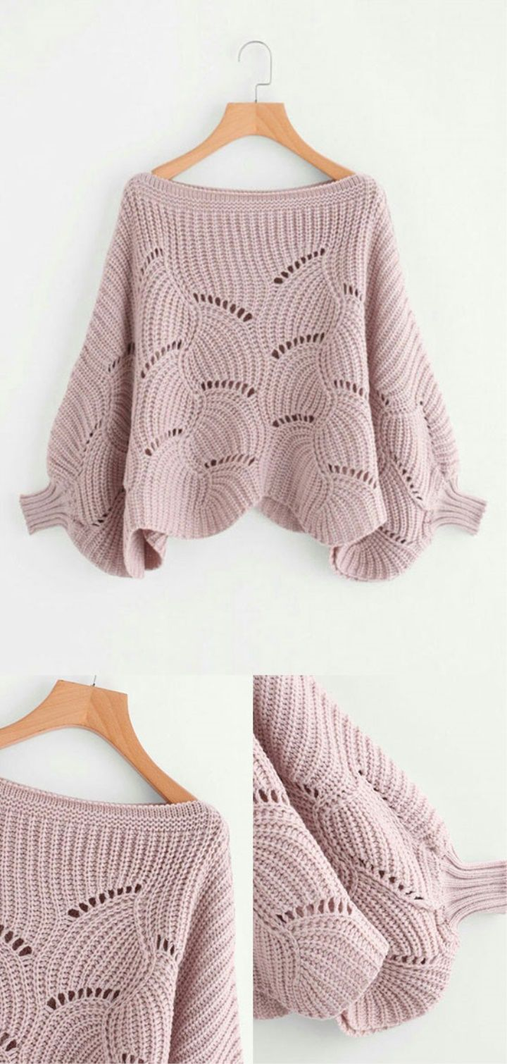 Pullover Free Pattern #knitting #knitted #knit #crochet #crochetaddict  #crochettutorial #womenfashion