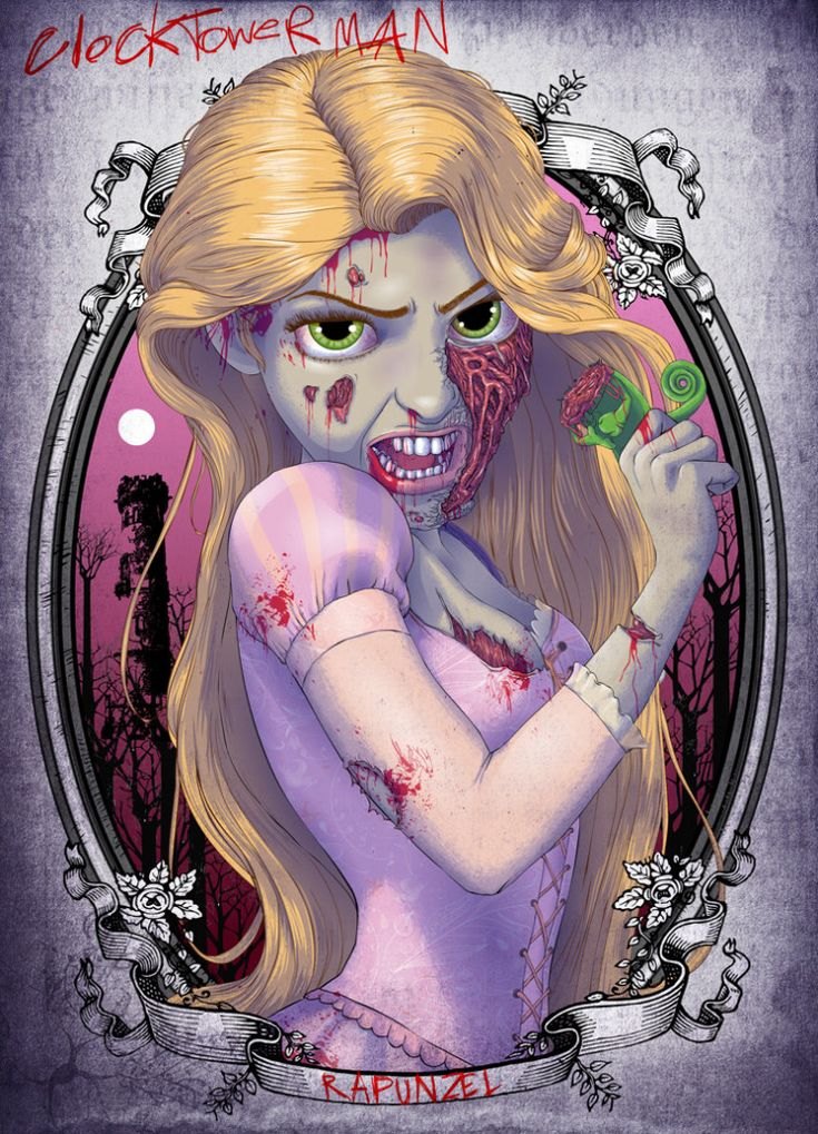 Zombie Disney Princess