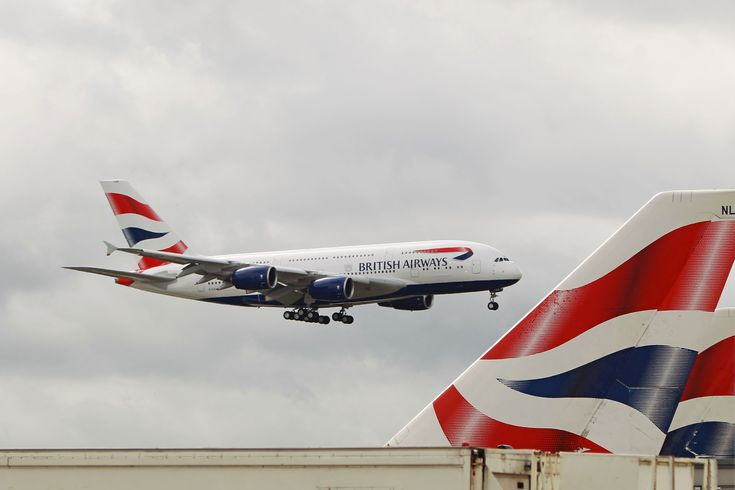 British Airways received its first of 12 Airbus A380 (Aircraft Registration G-XLEA) fitted with Rolls Royce Trent 900 engines at Heathrow on 4 July 2013. Description from superadrianme.com.