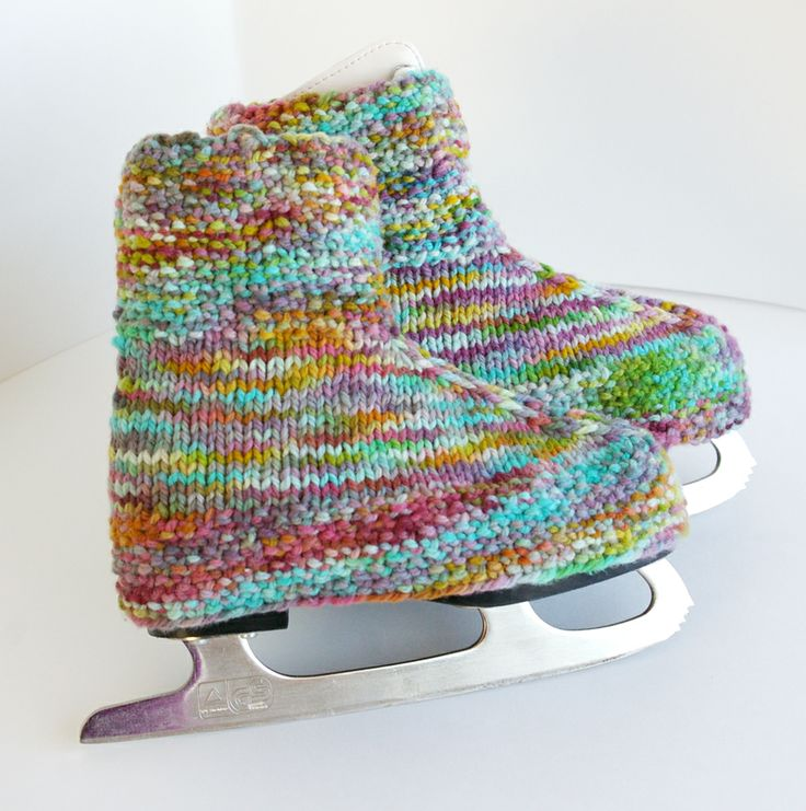 Handmade Knitting Patterns : skate, boot, covers, warmers, skate covers, skate warmers, handmade, knit, kn...