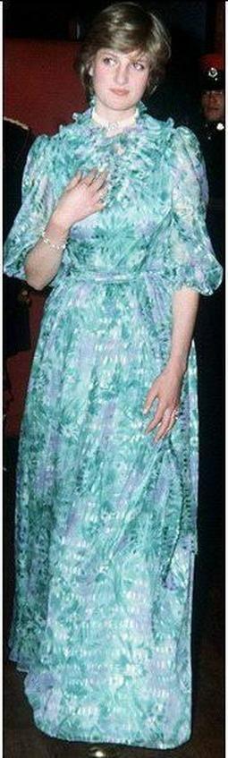 Diana in 1981