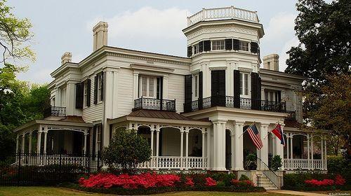Antebellum home Columbus, Mississippi