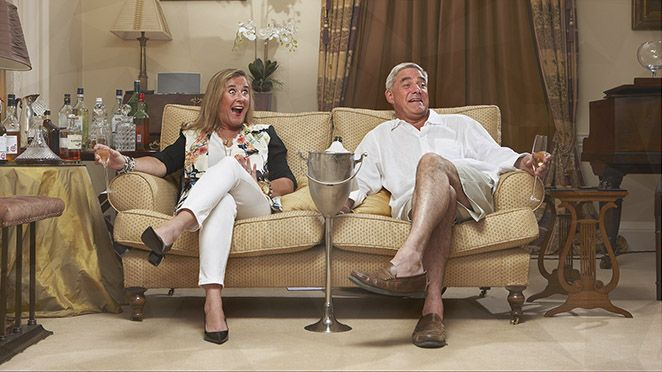 Gogglebox (Channel 4-UK- September 11, 2015) Season 6 - Gogglebox is a documentary and reality series that features recurring British couples, families and friends sitting in their living rooms watching weekly British television shows. In every new episode of Gogglebox, you will see some of Great Britain's most opinionated and avid viewers commenting on the best and worst television shows of the past week. Exec. Produced by Tania Alexander.