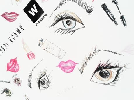 Illustration for #WBeautyxEsteeLauderCo by Lara Klawikowski