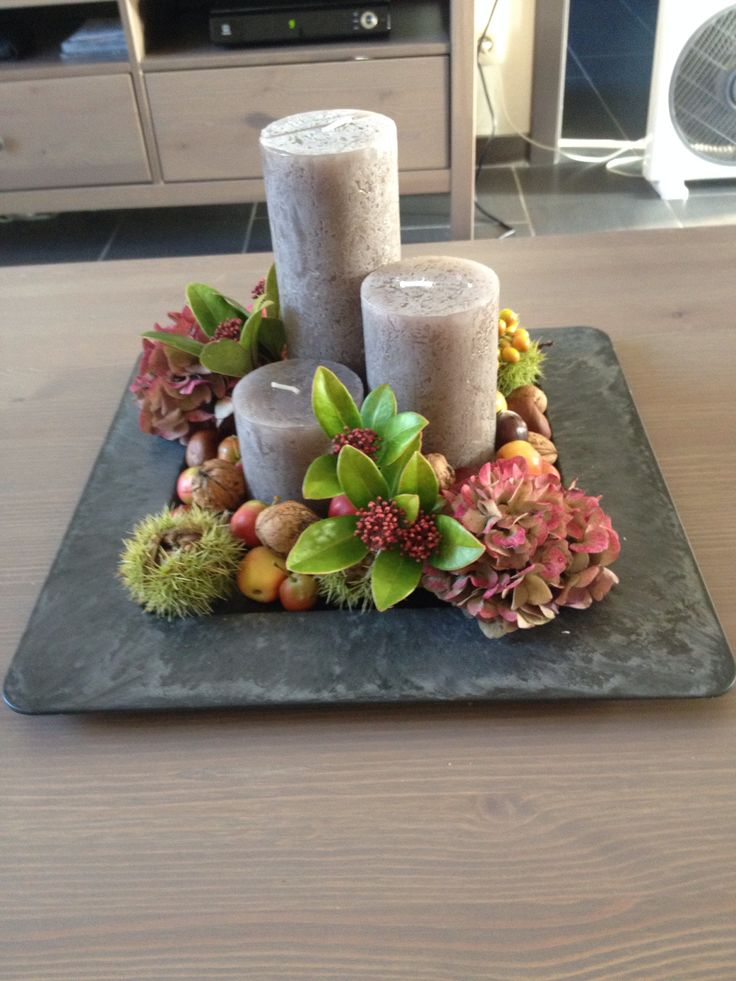 790 best bloemen en planten images on pinterest for Herfst decoratie