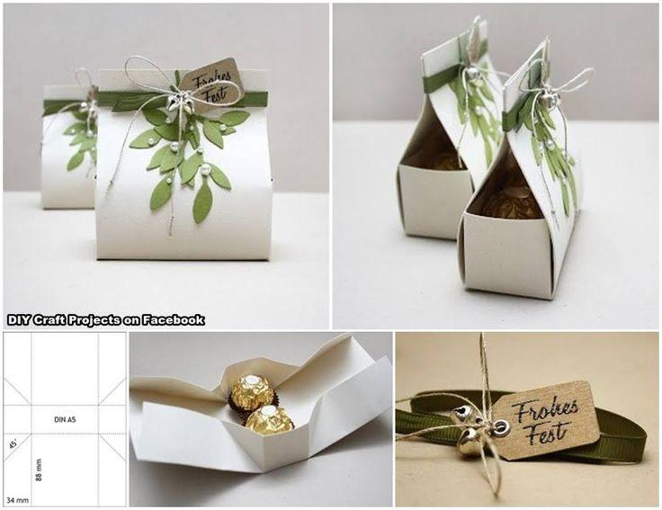 Gift packaging idea - Ferrero Rocher