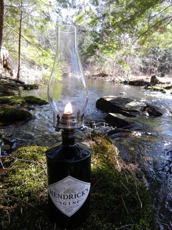 repurposed recycled reused reclaimed | Recycled Repurposed Reused Hendricks Gin Oil by CoffeeHouseGallery