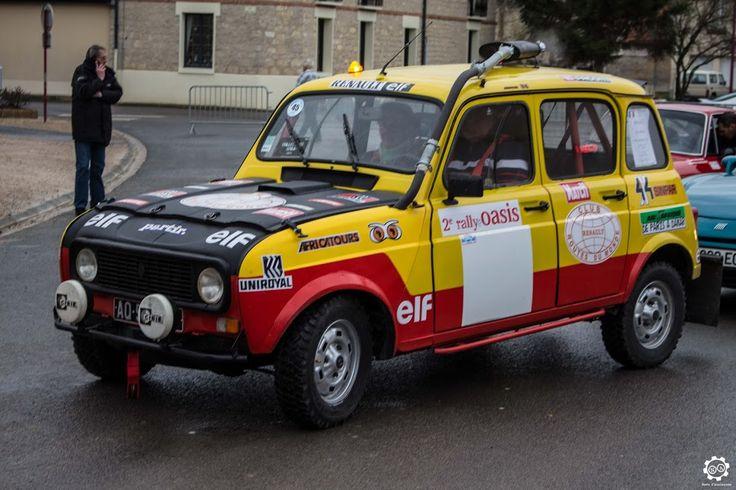 #Renault #4 #Marreau #Replica au rallye Hivernale Vallée. Reportage complet : http://newsdanciennes.com/2015/11/29/retour-a-lhivernale-vallee/ #Voitures #Anciennes #Vintage #ClassicCar