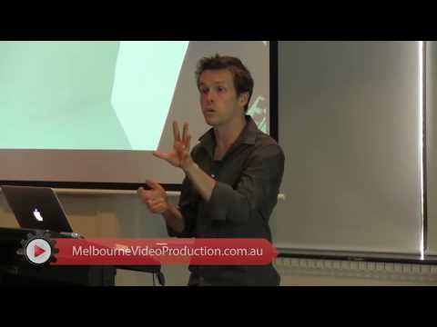"""In this clip, David Jenyns continues to introduce other basic video production equipment that you will need – tripod, lighting, and prompter.   Ready to setup your own web video? Or still need a helping hand? Visit http://www.melbournevideoproduction.com.au/faq/ and we will help you to create your own video. """