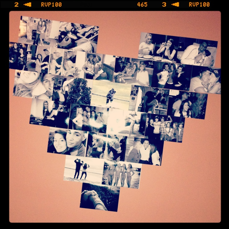 My heart picture collage:)