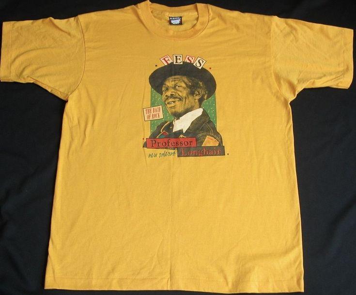 Vtg Professor Longhair New Orleans T-Shirt