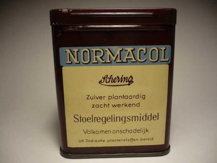 Medisch blikje 'Normacol'