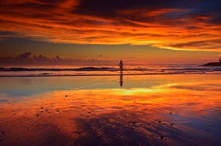 Sunset, Kuta, Bali
