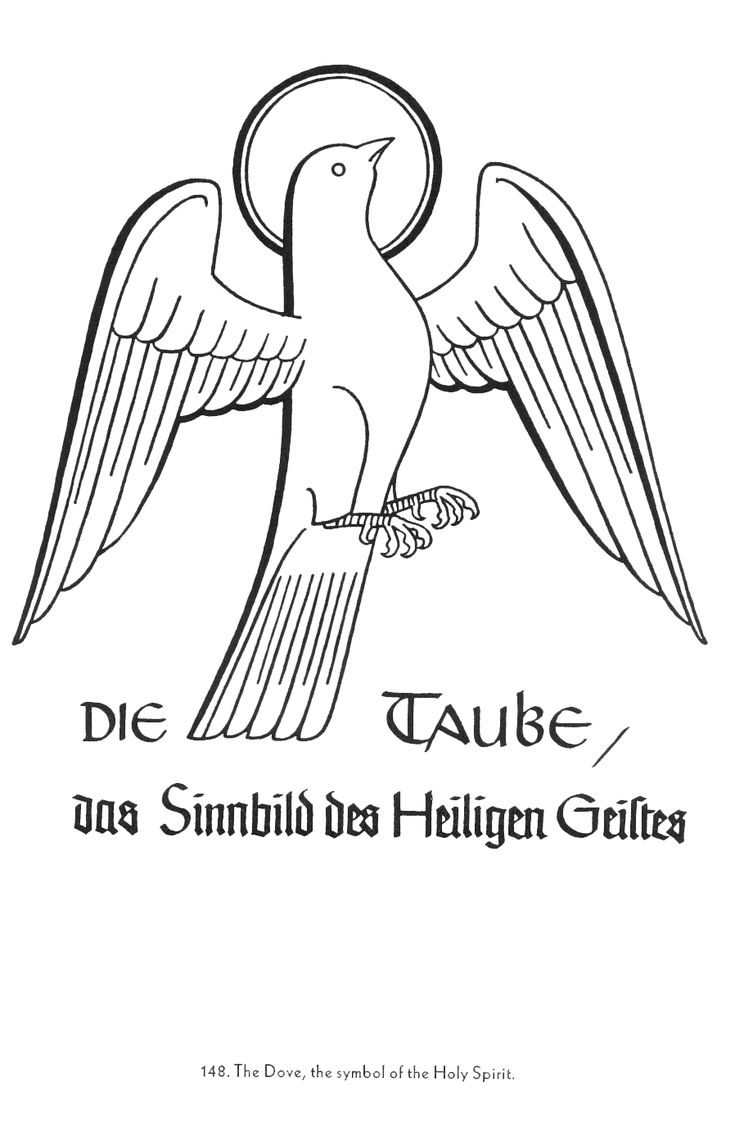 Dove symbolism 25 pinterest the dove symbol of the holy spirit christian symbols drawn by rudolf koch biocorpaavc