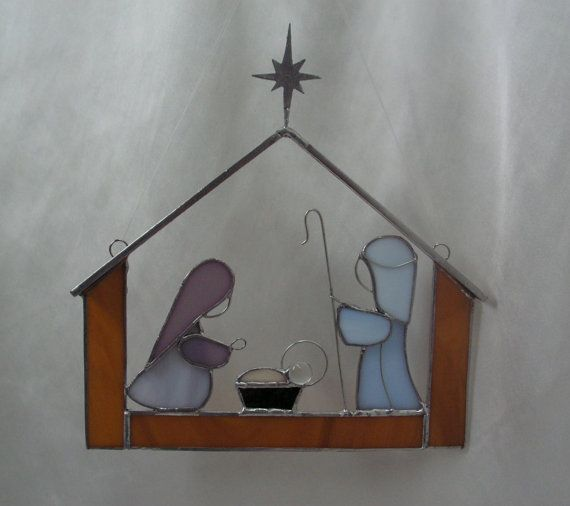 45 Best Images About Stained Glass Nativity On Pinterest