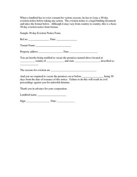 Best Eviction Notice Forms Images On   Eviction Notice