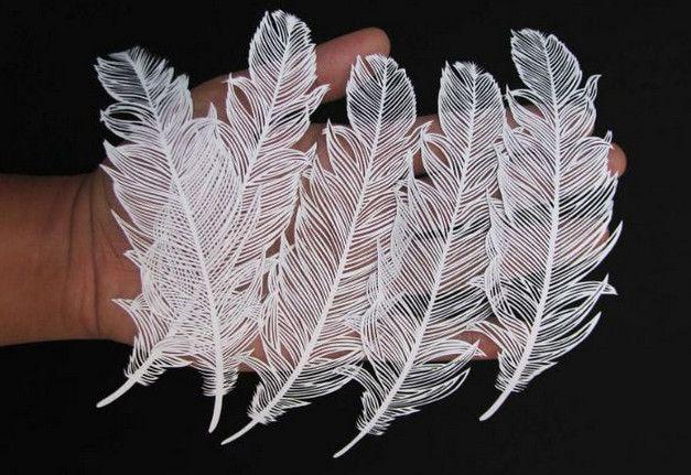 Вот как надо вырезать из бумаги! Индийский художник творит настоящие чудеса из бумаги…
