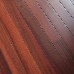 Jarrah flooring.